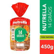 Pão 14 Grãos Vitta Nutrella 450g