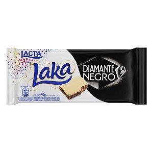 Barra de Chocolate Diamante Negro/Laka  Lacta  90g