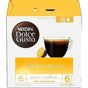 Café Em Cápsula Dulce Gusto Café Caseiro 128g