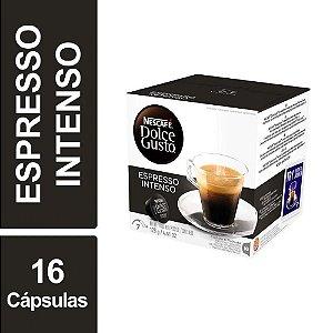 Café Em Cápsula Dulce Gusto Nescafé Espresso Intenso 128g