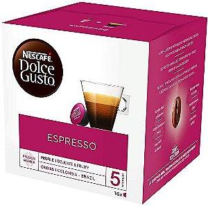 Café Em Cápsula  Dolce Gusto Espresso Nescafé 96g