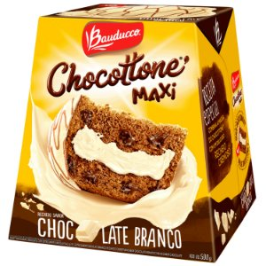 Panettone Chocottone Maxi Chocolate Branco Bauducco 500g
