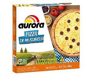 Pizza Mussarela Aurora 440g