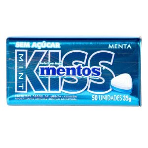 Mentos Kiss Sabor Menta 35g