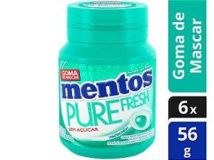 Goma De Mascar Mentos Pure Fresh Sem Açúcar 56g