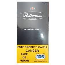 Cigarro Rothmans Internacional