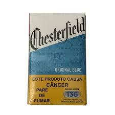 Cigarro Chesterfield Original Blue