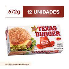 Hambúrguer  Bovino  Texas Burger 672g