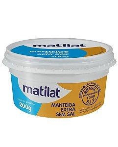 Manteiga Extra Sem Sal Matilat  200g