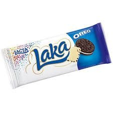 Barra de Chocolate Laka Oreo  90g