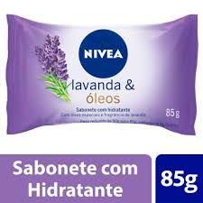 Sabonete Lavanda & Óleos  Nivea 85g
