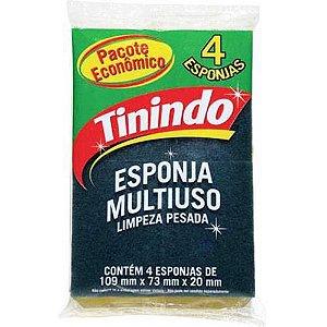 Esponja De Limpeza Tinindo 4 und