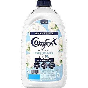Amaciante Confort  Hipoalergênico 3L
