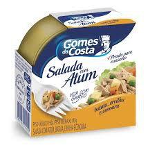 Salada De Atum  Batata  Ervilha  E Cenoura Gomes Da Costa
