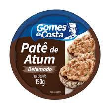 Pate De Atum Sabor Defumado Gomes Da Costa 150g