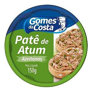 Pate Atum Com Azeitona 150g Gomes da Costa