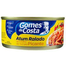 Atum Ralado em Molho de Tomate com Pimenta Gomes da Costa 170g