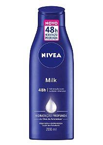Creme Hidratante Milk Nivea 200ml