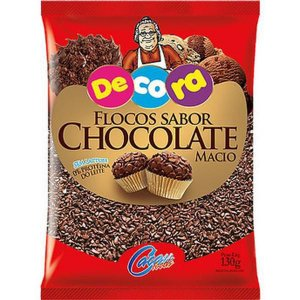 Flocos de Chocolate Macio Decora 130g