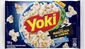Pipoca Micro-ondas  Sabor Manteiga De Cinema 100g