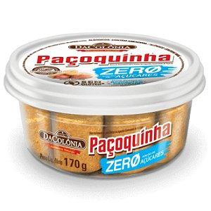 Paçoquinha Zero Adição de Açúcares DaColônia 170g