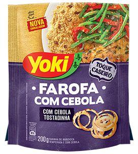 Farofa com Cebola Yoki 200g