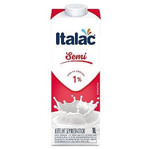 Leite Italac Semi (LEITE UHT) 1L