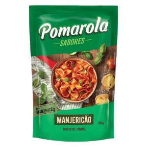 Molho Pomarola Manjericão 300g