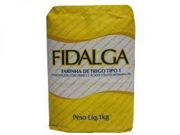 Farinha de Trigo Fidalga 1Kg