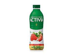 Activia Morango Com Frutas Naturais 850g