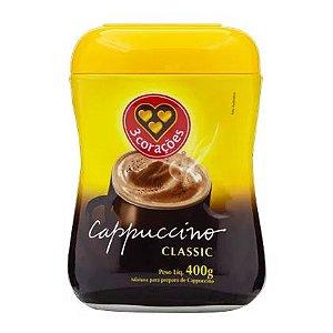 Café Cappuccino 3 Corações Classic 400g
