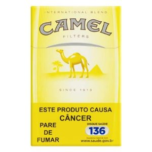 Cigarro Camel Yellow