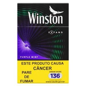 Cigarro Winston Purple Mint