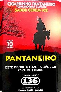 Fumo de Palha Pantaneiro Sabor Cereja Ice