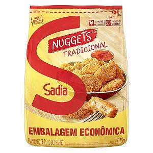 Nuggets Frango Tradicional Sadia 700g