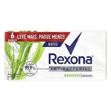 Sabonete Rexona Bamboo Antibacterial 84g