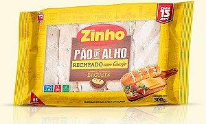 Pão de Alho Baguete Tradicional Com Queijo Zinho 300g