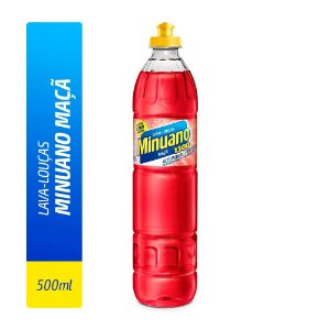 Detergente Liquido Minuano Maçã 500ml