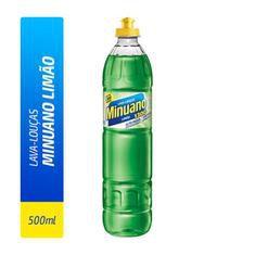 Detergente Liquido Minuano Limão 500ml