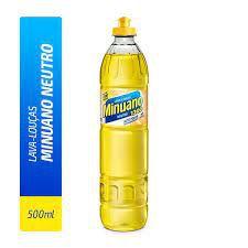 Detergente Liquido Minuano Neutro 500ml