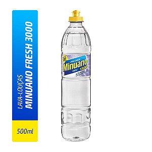 Detergente Liquido Minuano Fresh 500ml