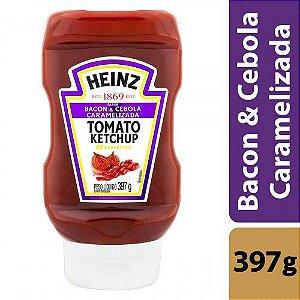 Ketchup Heinz Tomato Bacon e Cebola Caramelizada 397g