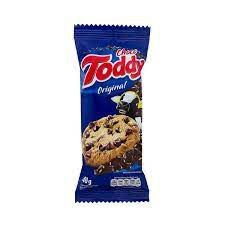 Biscoito Toddy Cookie Baunilha Gotas De Chocolate 40g