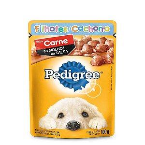 Sachê Pedigree Filhotes Carne ao Molho- 100g