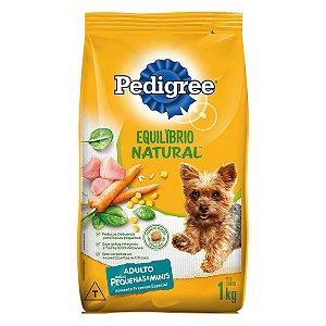 Ração Pedigree Equilíbrio Natural para Cães Adultos de Raças Pequenas 1 kg