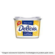 Margarina Delicia 500G Cremosa