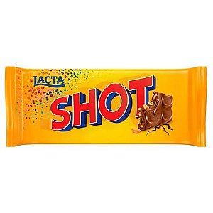 Barra de Chocolate Lacta Shot 90g