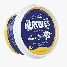 Manteiga Hercules com sal pote 200g