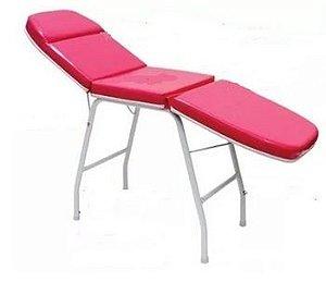 Maca estética 3 posição Pink Envernizada