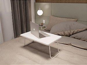 Mesa Suporte Multiuso Usar Notebook Na Cama Branco